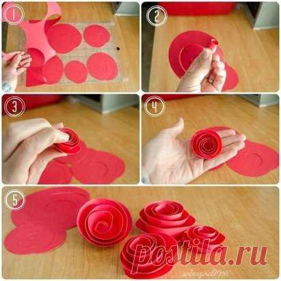 Искусство создания роз #сделай_сам