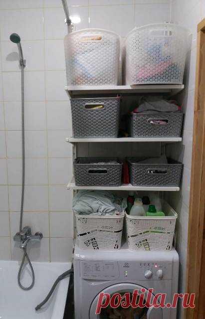 Грязное белье: самый жизненный способ хранения!   Дом с огородом в пригороде   Яндекс Дзен Живите проще или что можно хранить в ванной комнате, кроме очевидного? Мы убили двух зайцев - сырость и влажность, когда сделали вытяжку в ванной комнате. Это позволило мне хранить в ванной не только быт.хим, но и белье, и не только грязное!