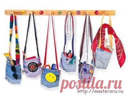 Джинсовые сумочки для маленьких модниц