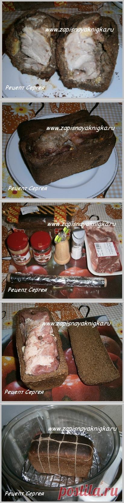 Запеченное мясо в аэрогриле