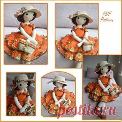 Куколка Лола - элегантная красавица для украшения любого интерьера и активных детских игр! Описание:... ...#ОписаниеИгрушек_Куклы