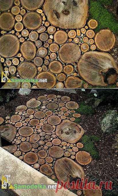 La calzada a la casa de campo de madera spilov \/ Cамоделки para la casa de campo \/ Самоделка.net - Haz por las manos   los Objetos de fabricación casera. Los consejos útiles y las recomendaciones al artífice de casa