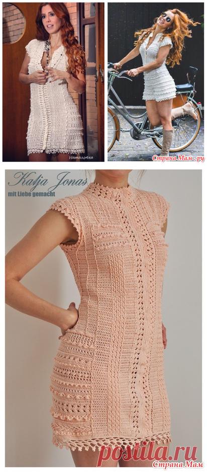 Платье Винтаж от Ванессы Монторо. Он-лайн от Katja Jonas из Страны ... 7abf55b0dd1