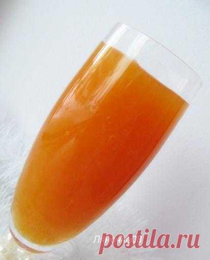 Оранжевое настроение: Тыквенно-апельсиновый кисель