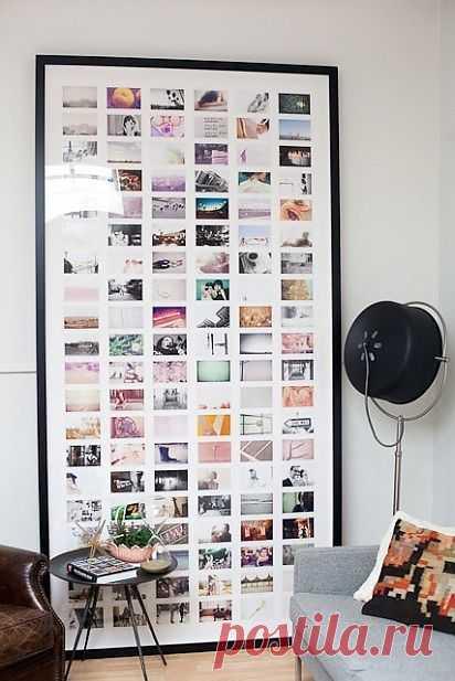 ФОТОРАМКА / Арт-объекты / Модный сайт о стильной переделке одежды и интерьера