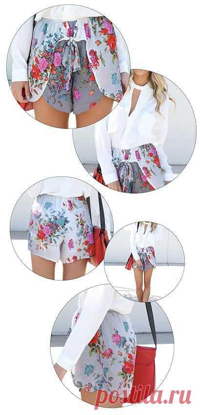 Шорто-юбка / Шорты / Модный сайт о стильной переделке одежды и интерьера