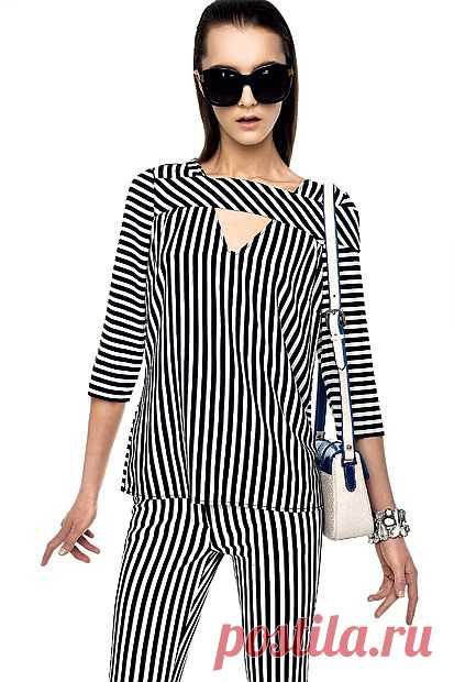 """Еще одна """"полосатая"""" идея / Тенденции / Модный сайт о стильной переделке одежды и интерьера"""