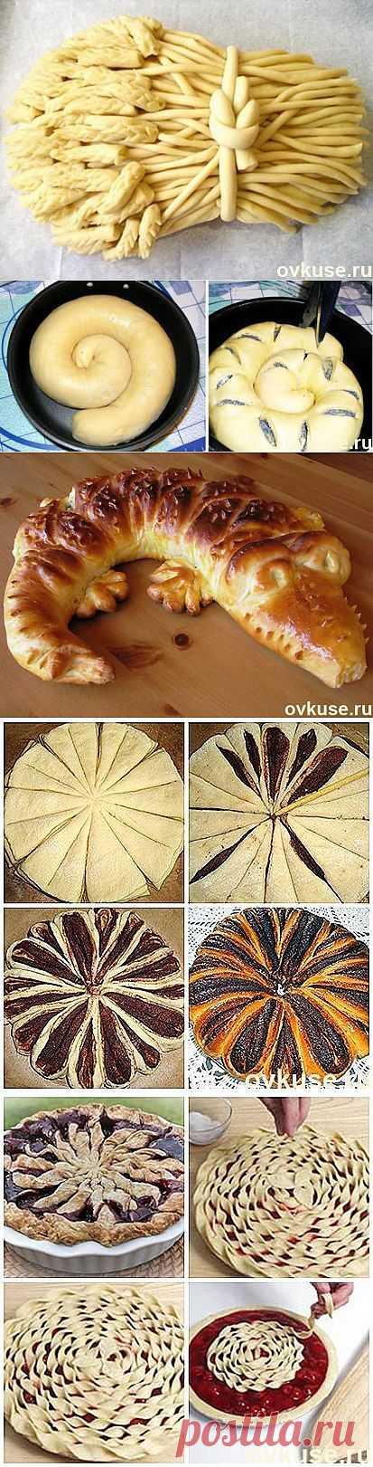 Оформление пирогов - Простые рецепты Овкусе.ру