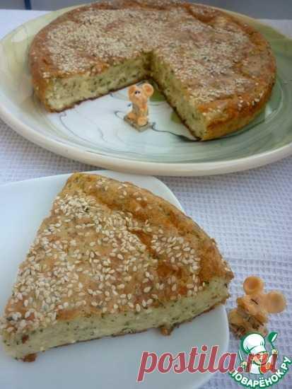 Быстрый сырно-творожный пирог Кулинарный рецепт