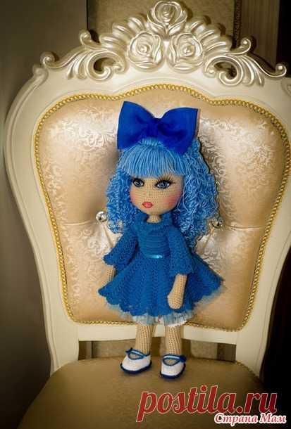 . Мальвина, кукла связанная крючком - Игрушки своими руками - Страна Мам