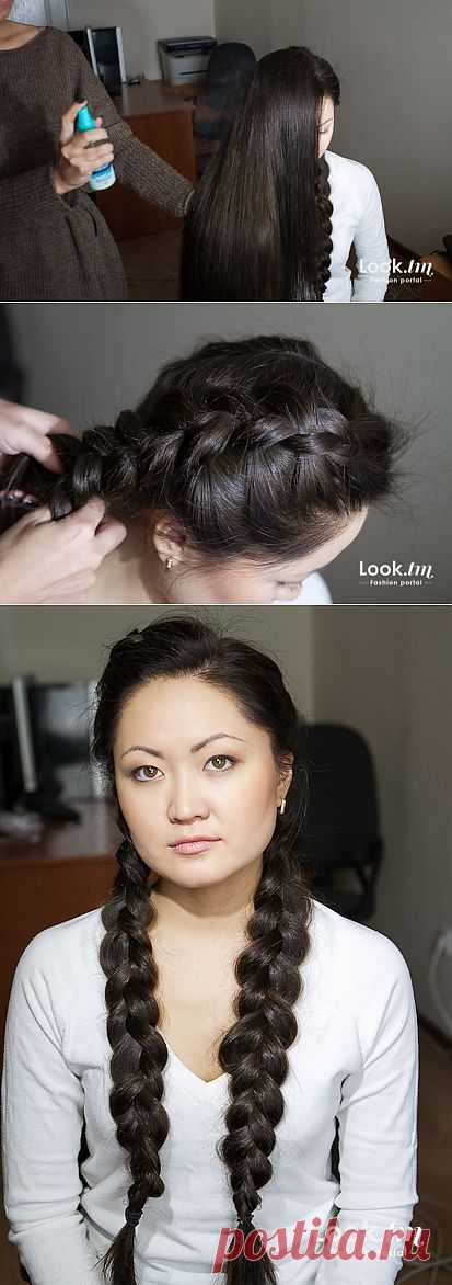 Фотоурок: кружевная коса