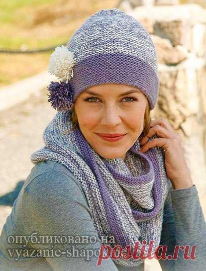 женские шапки спицами вязание шапок модные и новые модели Part