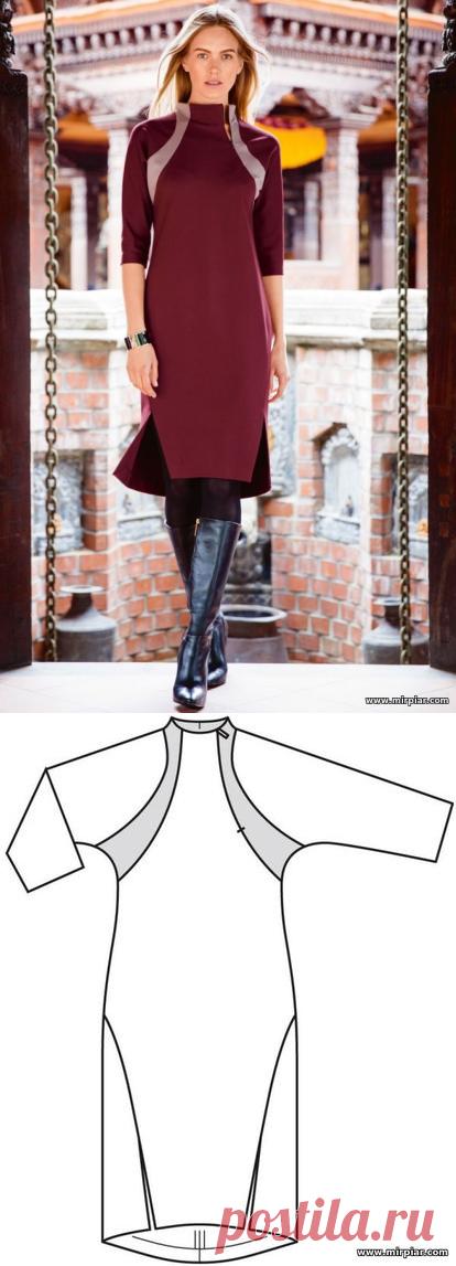 free pattern, sheath dress, pattern sewing, patterns of dresses, DRESSES, ready patterns, patterns to download, sewing, patterns free of charge, to download, MirPiar.com