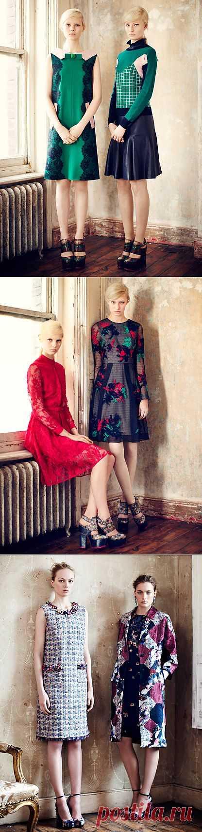 Занимательная комбинаторика от Erdem (трафик) / Дизайнеры / Модный сайт о стильной переделке одежды и интерьера