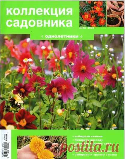 Коллекция садовника. ОДНОЛЕТНИКИ.  Журнал скачать.