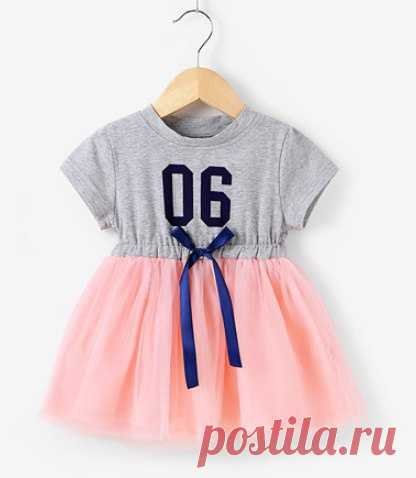 Нарядное платье из футболки / Для детей / ВТОРАЯ УЛИЦА