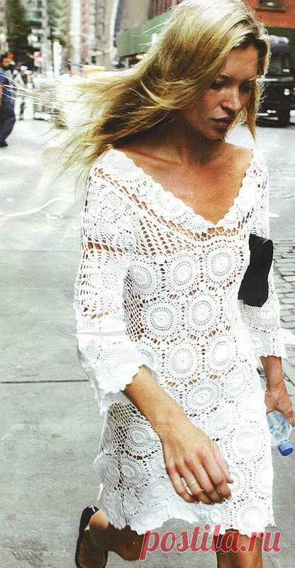 Платье как у Кейт Мосс .