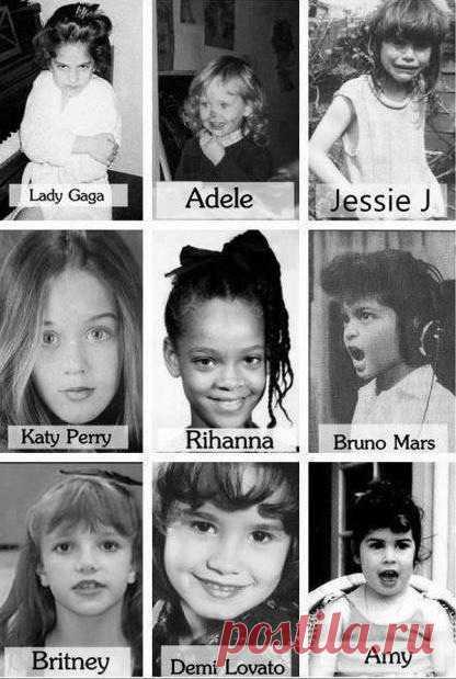 Детские фото звезд мирового шоу-бизнеса