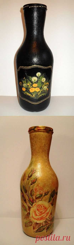 (+1) - вот такие вазочки получились... | Очумелые ручки