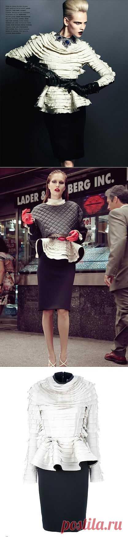 Платье Lanvin / Платья Diy / Модный сайт о стильной переделке одежды и интерьера