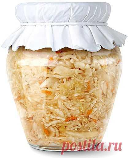 Рецепты квашеной капусты.