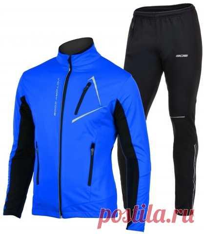 Утеплённый лыжный костюм 905 Victory Code Dynamic blue мужской купить со скидкой в интернет-магазине Beactiv.ru