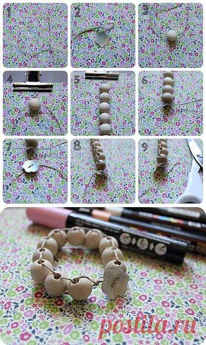 Плетем браслеты в этническом стиле