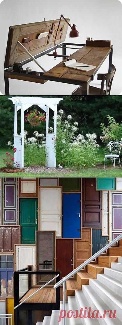 Новая жизнь старой двери 2 ( трафик) / Арт-объекты / Модный сайт о стильной переделке одежды и интерьера