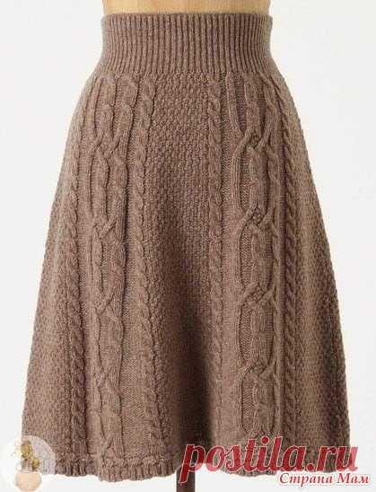 Прошу помощи Всем добрый день. Очень понравилась юбочка. Нашла в интернете фото юбки, схему вязания самой юбки или арана найти не могу. Прошу вашей помощи.