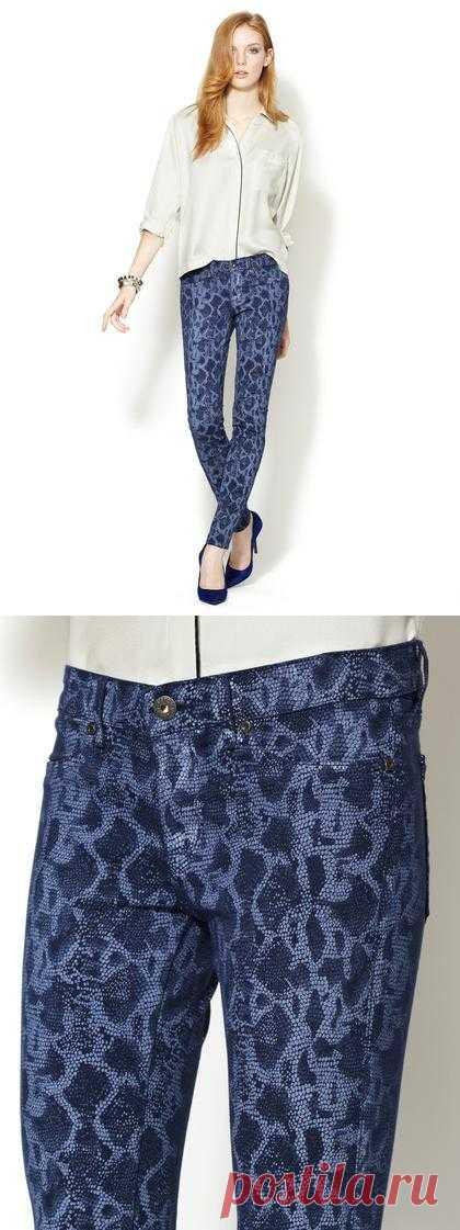 питоновые джинсы
