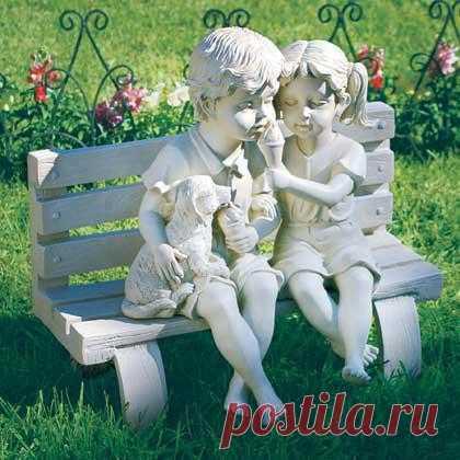 Скульптура для сада «Детство»
