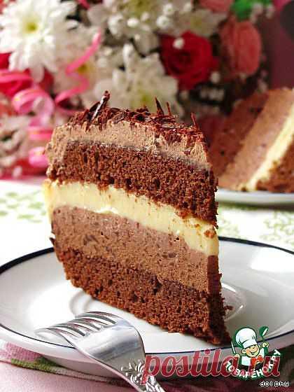 Шоколадно-лимонный торт. Автор: dolphy