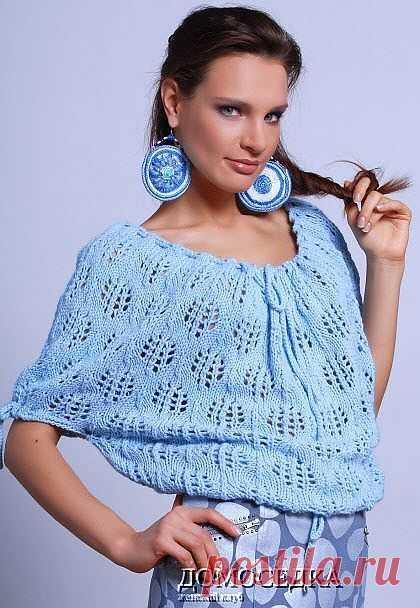 Ажурная блуза | ДОМОСЕДКА