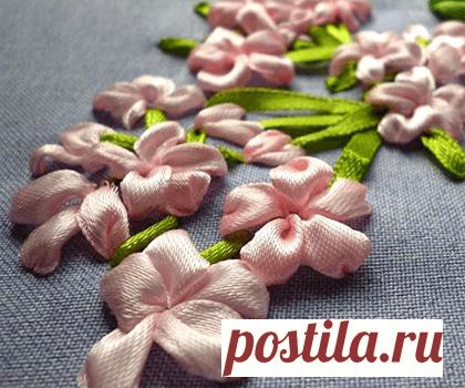 Bordado de cinta: exquisita belleza de bricolaje | My-shop.ru