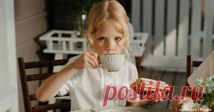 Мама налей чай, чтоб попа не слиплась)