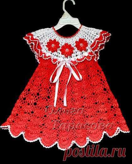 Мастер-Класс по вязанию авторского детского платья (основы)