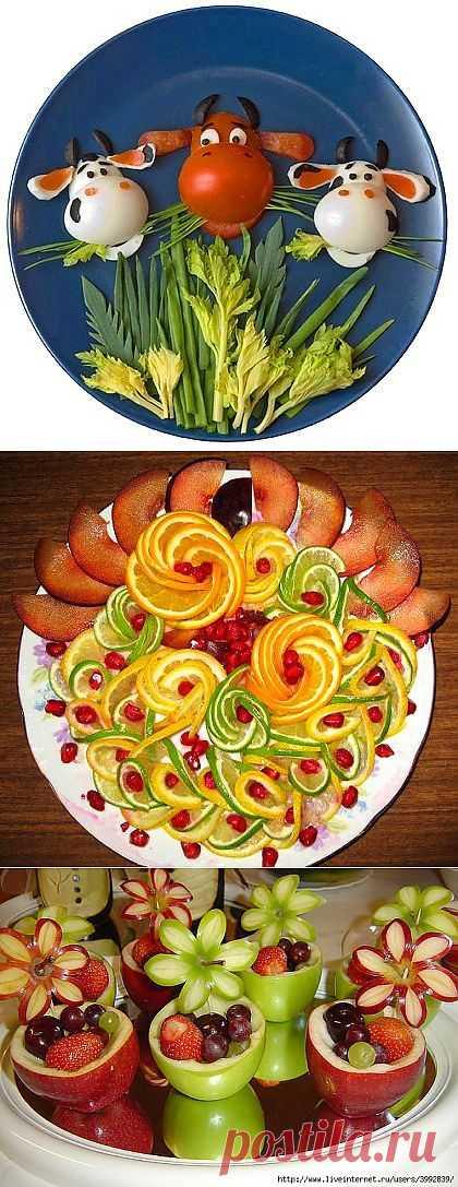 Оформление овощных закусок | ВКУСНО ПОЕДИМ!