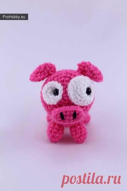 свинка вязание игрушек Prohobbysu вязание игрушек спицами и