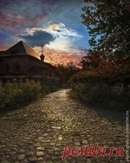 Где-то в 18-ом веке - фотография,фотокартина,фотограф,пейзаж,храм,церковь