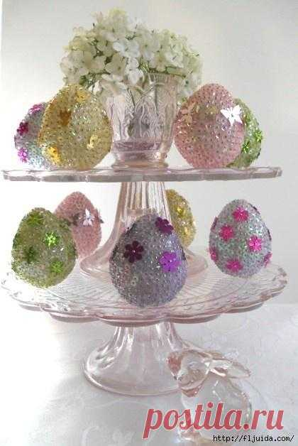 Easter inspiration. Ideas of an easter decor.