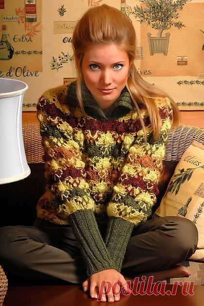 Цветной свитер | ДОМОСЕДКА