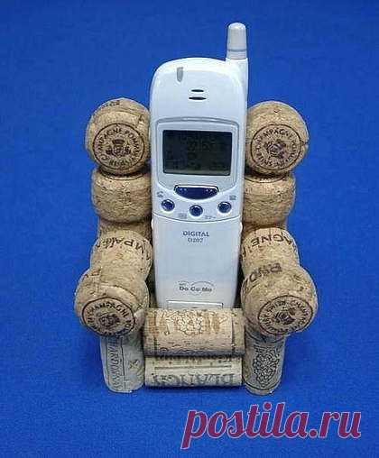 мобильник отдыхает