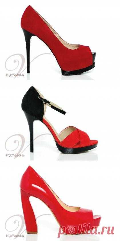 Красные туфли на выпускной 2013