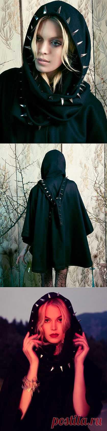 Интересная отделка капюшона / Пальто и плащ / Модный сайт о стильной переделке одежды и интерьера