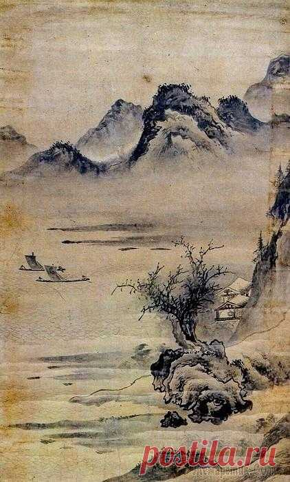 La pintura coreana. Ho Dzhu - Ho Ju (허주). (¿1581?)