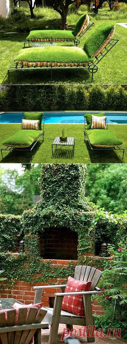 Зеленые идеи для садового дворика | Наш уютный дом