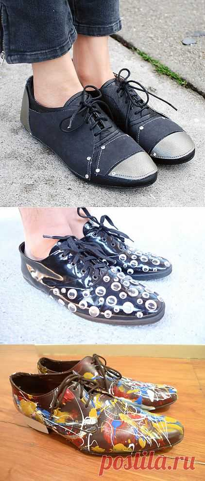 столько переделка обуви своими руками фото некоторых