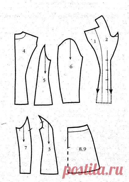 Шьем короткую юбку » Бесплатные выкройки одежды, шьем своими руками платья, блузки, пальто, костюмы, сарафаны