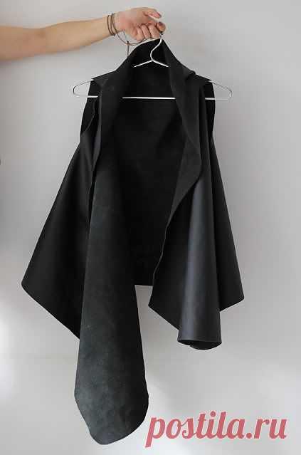 Жилет из кожи (Екатерина Ш) / Своими руками / Модный сайт о стильной переделке одежды и интерьера