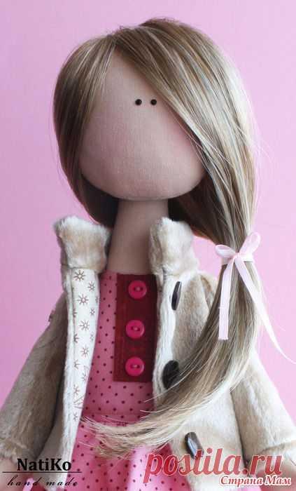 Волосы кукле из тресс.МК.